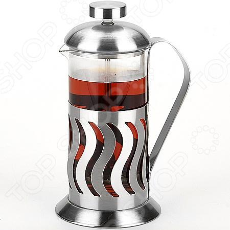 Френч-пресс Mayer&amp;amp;Boch MB-24926Френч-прессы<br>Френч-пресс Mayer Boch MB-24926 - современное устройство с помощью которого можно быстро и легко заварить кофе или чай. Напиток настаивается, а за тем с помощью специального поршня - отжимается. Модель очень удобна и практична в использовании: напитки и воду легко засыпать и заливать в френч-пресс, а так же его очень удобно мыть. Стеклянная колба выполнена из высококачественного жаропрочного стекла, а основание и крышка из нержавеющей стали. С френч-прессом вы в любой момент сможете насладиться свежим и ароматным напитком.<br>