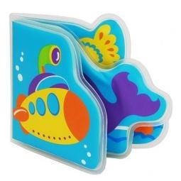 Книжка-пищалка для ванной МИР ДЕТСТВА «Подводное путешествие»
