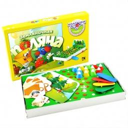 фото Настольная игра Step Puzzle Земляничная поляна. Летающие колпачки