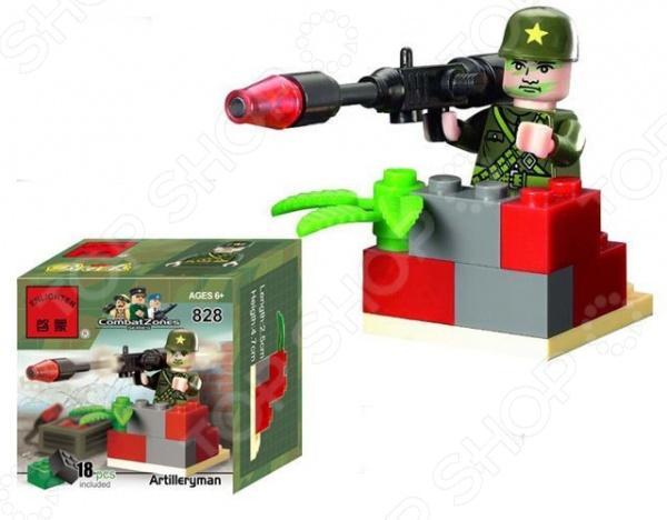Конструктор игровой Brick Artilleryman цена