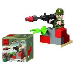 Купить Конструктор игровой Brick Artilleryman