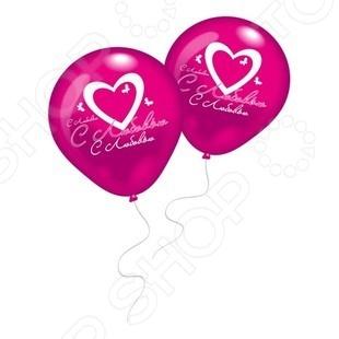 Набор воздушных шаров Everts 1009689 «С Любовью!»