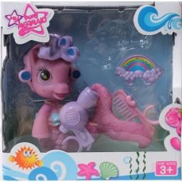 фото Набор игровой для девочки Shantou Gepai «Пони-русалка с аксессуарами» CL1984ABC. В ассортименте