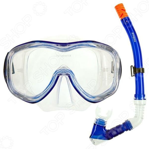 Набор из маски и трубки ATEMI 24104 Набор из маски и трубки Atemi 24104 /Синий