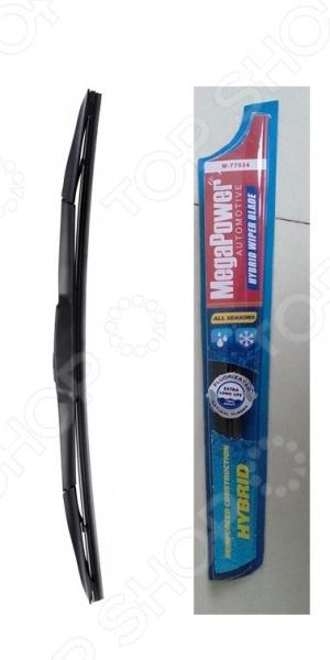 Щетка стеклоочистителя с универсальным адаптером Megapower Hybrid Megapower - артикул: 542028