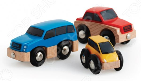 Набор машинок игрушечных Brio 33759