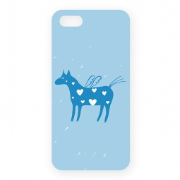 фото Чехол для iPhone 5 Mitya Veselkov «Крылатая лошадка»