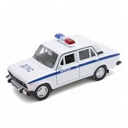 Купить Модель машины 1:34-39 Welly «Lada 2106. Милиция ДПС»