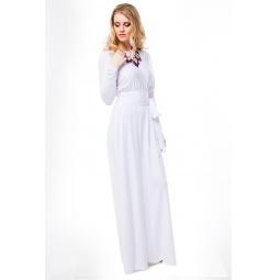 фото Платье Mondigo 7027. Цвет: белый. Размер одежды: 46