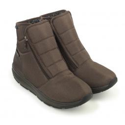 Купить Ботинки зимние адаптивные мужские Walkmaxx. Цвет: коричневый