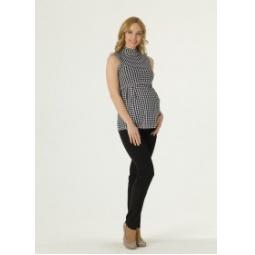 Купить Водолазка для беременных Nuova Vita 1402.5. Цвет: черный, белый