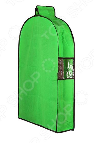 Чехол для верхней одежды подвесной EL Casa «Соты»Кофры. Чехлы. Органайзеры для вещей<br>Чтобы дома на полках с одеждой не царил постоянный беспорядок хозяйки прибегают к самым различным методам. Кто-то решает эту проблему с помощью отдельных контейнеров, кто-то приобретает специальные вакуумные пакеты, но самым простым и эффективным способом решения этой извечной проблемы кофры. Чехол для верхней одежды подвесной EL Casa Соты предназначен для удобного и организованного хранения вашей верхней, сезонной одежды. Вместительный чехол позволит вам сохранить свежесть и внешний вид вещей от сезона к сезону. Удобный чехол выполнен из нетканого материала. Он легко пропускает воздух внутрь, при этом надежно защищая одежду от случайных пятен, грязи и пыли. Благодаря ему вы сможете хранить даже самые деликатные вещи в шкафу с вашей повседневной одеждой. Удобная и практичная конструкция имеет одну прозрачную вставку, которая позволяет быстро разглядеть что находится в нем. Органайзер для вещей довольно вместительный, поэтому при желании можно использовать для безопасной транспортировки необходимой одежды. Кофр обладает и другими преимуществами:  практичный и стильный дизайн позволит ему вписаться в любой интерьер;  закрывается на молнию;  объемная конструкция не позволит верхней одежде случайно помяться;  легко поместится в шкафу.<br>
