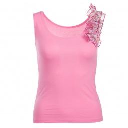фото Топ Milana Style «Бритни». Цвет: розовый. Размер одежды: 44