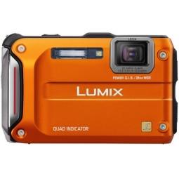 фото Фотокамера цифровая Panasonic Lumix DMC-FT4. Цвет: оранжевый