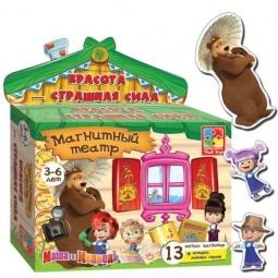 Купить Игра развивающая на магнитах Vladi Toys «Магнитный театр. Красота-страшная сила»