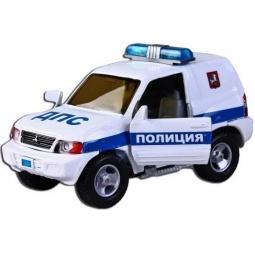 Купить Модель машины 1:43 Пламенный Мотор Mitsubishi ДПС Полиция