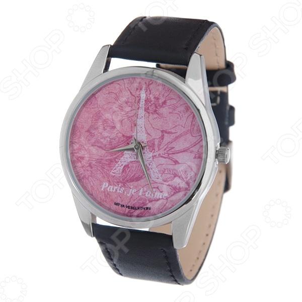 Часы наручные Mitya Veselkov «Париж» MV часы наручные mitya veselkov часы mitya veselkov цифры и насечки на черном арт mv 130
