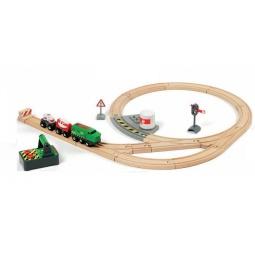 фото Набор на дистанционном управлении Brio «Железная дорога с поездом»
