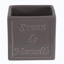 фото Стакан для ванной Spirella Savon De Marseille. Цвет: серый
