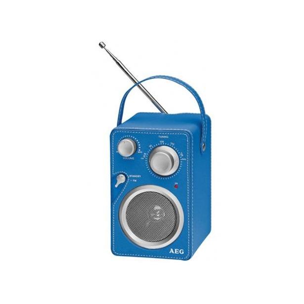 фото Радиоприемник AEG MR 4144. Цвет: синий