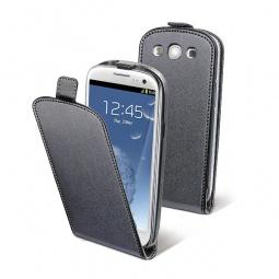 фото Чехол и пленка на экран Muvit Slim Case для Samsung S3 i9300. Цвет: черный