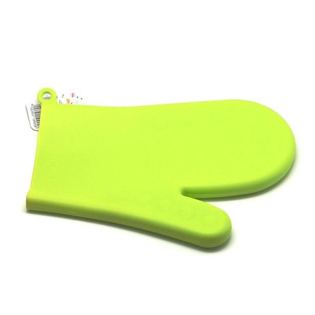 фото Прихватка-варежка силиконовая Atlantis SC-GL-003. Цвет: зеленый