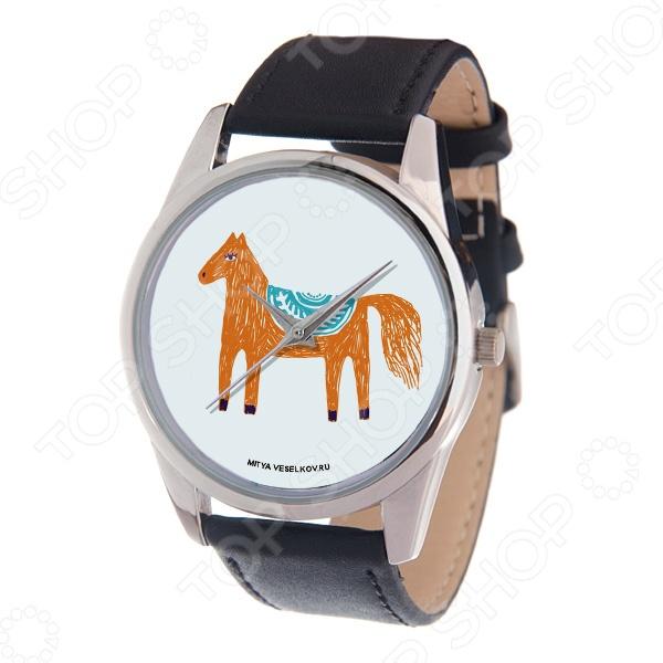Часы наручные Mitya Veselkov «Лошадка карандашами» MV часы наручные mitya veselkov часы mitya veselkov одри на белом курит арт mv 38