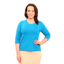 Комплект блузок Матекс «Тутси». Цвет: голубой, бежевый
