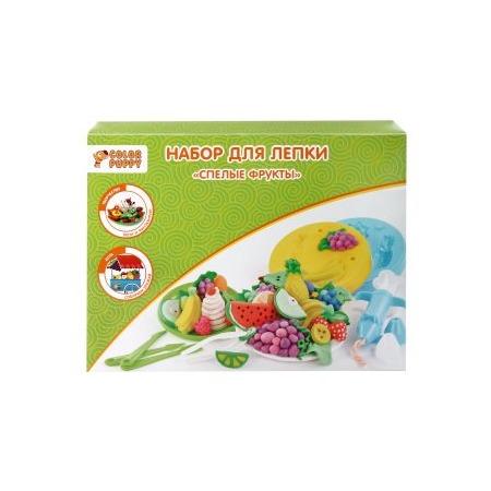 Купить Набор для лепки из пластилина Color Puppy «Спелые фрукты»