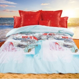 фото Комплект постельного белья Унисон «Тысяча островов». Семейный