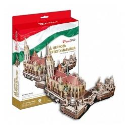 Купить Пазл 3D CubicFun «Церковь Святого Матьяша»