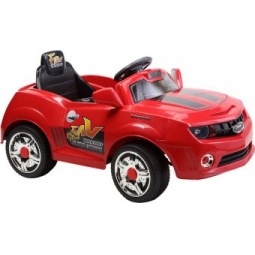 фото Электромобиль для малыша Пламенный Мотор «Машина гоночная». Цвет: красный
