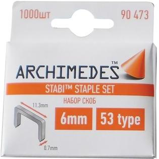 Купить Набор скоб для степлера Archimedes Stabi