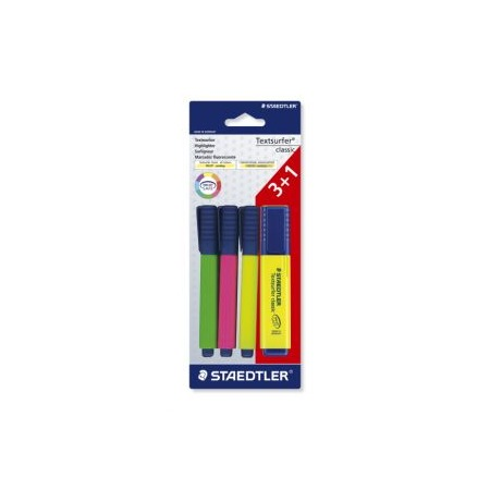 Купить Набор маркеров-текстовыделителей Staedtler 364ABK4D02