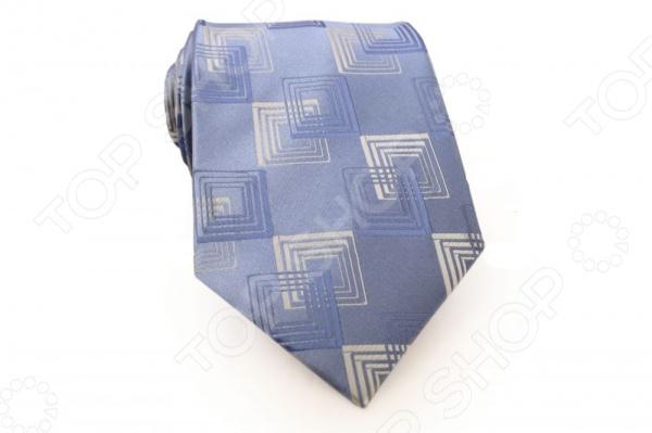 Галстук Mondigo 33552Галстуки. Бабочки. Воротнички<br>Галстук Mondigo 33552 - стильный мужской галстук, выполненный из микрофибры, которая обладает высокой устойчивостью и выдерживает богатую палитру оттенков. Галстук голубого цвета, украшен изящным геометрическим орнаментом. Такой стильный галстук будет очаровательно смотреться с мужскими рубашками темных и светлых оттенков. Упакован галстук в специальный чехол для аккуратной транспортировки. Дизайн дополнит деловой стиль и придаст изюминку к образу строгого делового костюма.<br>