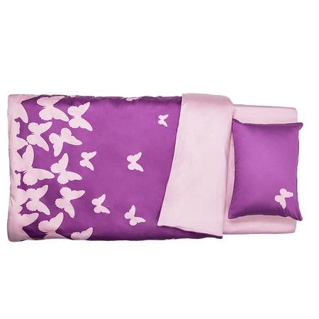 Фото Комплект постельного белья Dormeo PRIMAVERA. 2-спальный. Цвет: фиолетовый