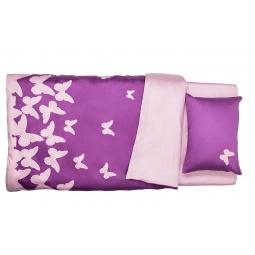 Купить Комплект постельного белья Dormeo PRIMAVERA. 2-спальный. Цвет: фиолетовый. Уцененный товар