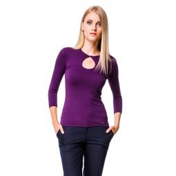 фото Кофта Mondigo 6022. Цвет: баклажановый. Размер одежды: 46