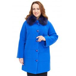 Купить Пальто Electrastyle «Валери». Цвет: лагуна