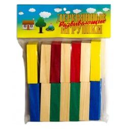 фото Набор развивающий Русские деревянные игрушки «Бруски»