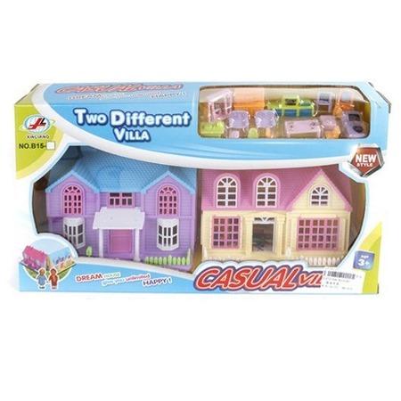 Купить Домик кукольный Shantou Gepai с мебелью