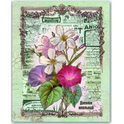 фото Дневник школьный Феникс «Цветы и винтаж»