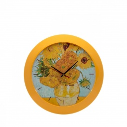 Купить Часы настенные Mitya Veselkov «Подсолнухи»