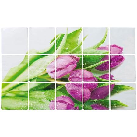 Купить Стикер защитный на кафель Marmiton «Тюльпаны» 17101