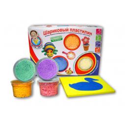 фото Набор пластилина шариковый сохнущий из 4 цветов Доктор Чарли