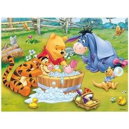 фото Пазл 30 элементов Trefl «Пятачок принимает ванну»