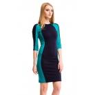 Фото Платье Mondigo 5156-1. Цвет: изумрудный. Размер одежды: 46