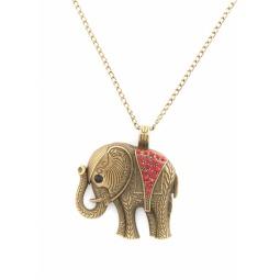 фото Кулон Mitya Veselkov «Слон с красной накидкой»