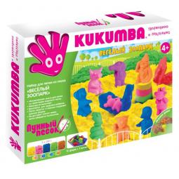 фото Набор для лепки из песка KUKUMBA Веселый зоопарк