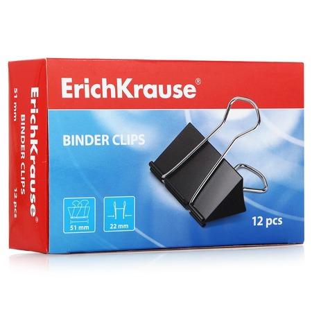 Купить Набор зажимов для бумаг Erich Krause